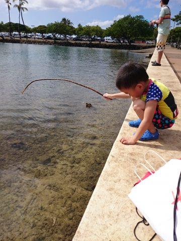 ハワイで釣りポイントと釣り禁止エリアがあること