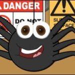 Itsy Bitsy Spiderちっちゃなクモさんの歌詞と日本語