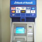 ハワイのATMでクレジットカードから現金を引き出す方法!